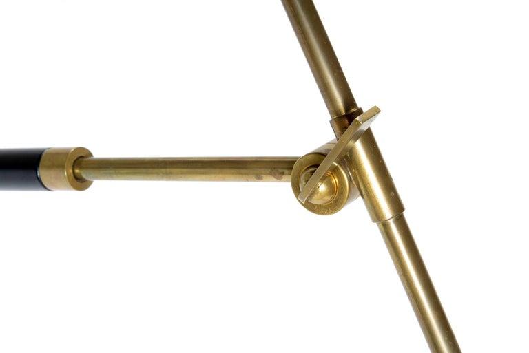 Stilux Milano Italian Midcentury Adjustable Standig  Floor Lamp ,1960 For Sale 1