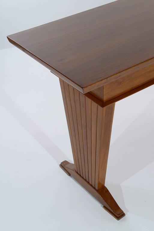 Italian Console Table or Writing Desk by Arch. Giovanni Michelucci For Sale 2