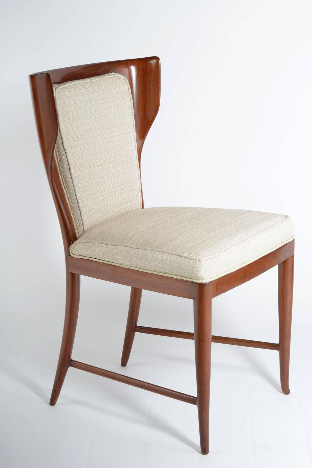 Four Elegant Chairs By Paolo Buffa Published For Sale At