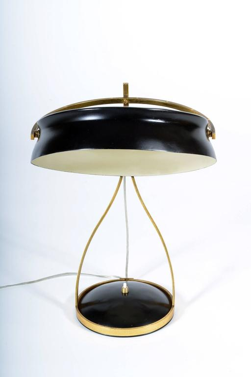 Mid-Century Modern Mid-20th Century Adjustable Table Lamp Called Commander by Chiarini Milano