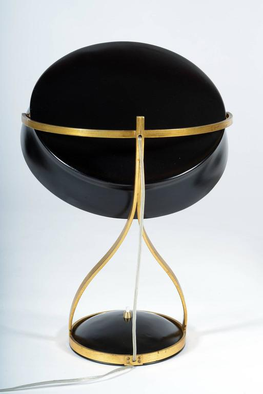 Mid-20th Century Adjustable Table Lamp Called Commander by Chiarini Milano In Excellent Condition In Firenze, IT