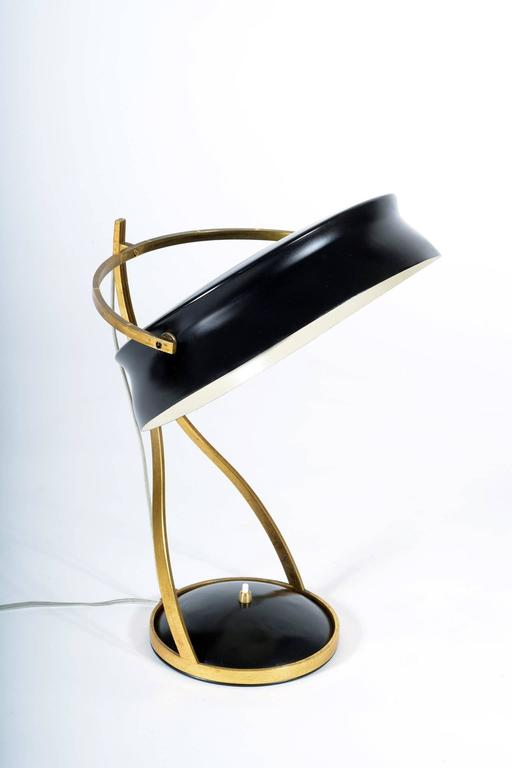 Mid-20th Century Adjustable Table Lamp Called Commander by Chiarini Milano 3