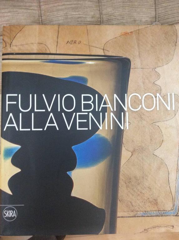 Italian Mid-Century Murano Glass 'Fazzoletto' by Fulvio Bianconi for Venini For Sale 3