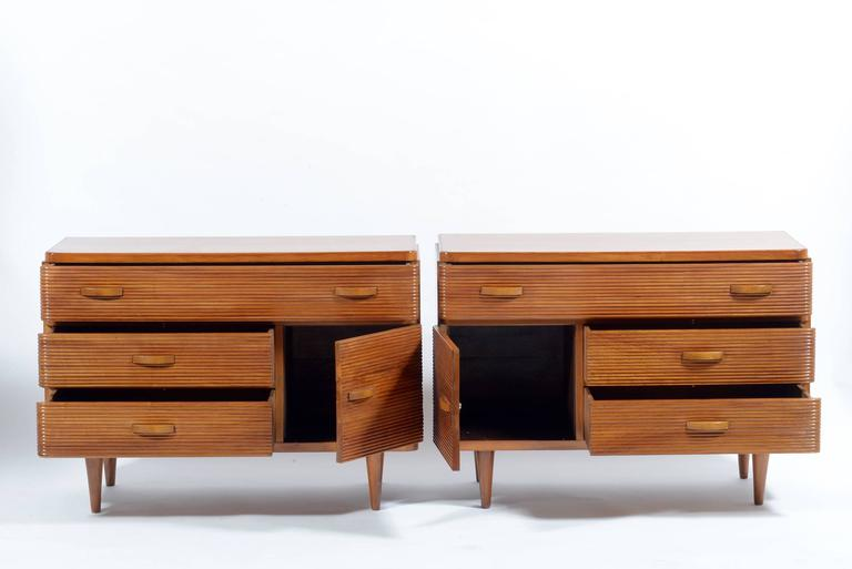Pair of Mid-Century Italian Cabinets or Chest or Big Nightstand 3