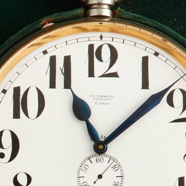 Monumental Silver Goliath Clock, circa 1910-1915 In Excellent Condition For Sale In London, GB