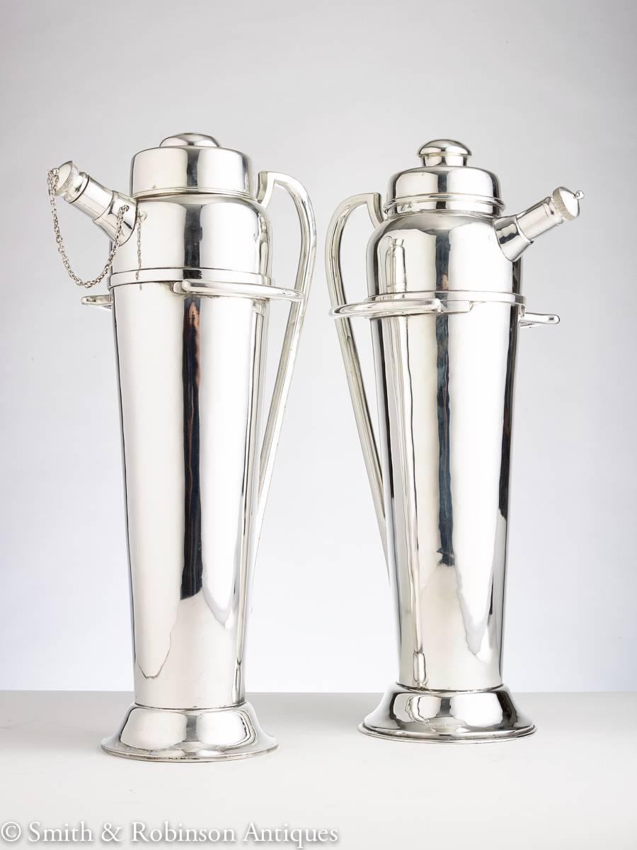 Large Cocktail Shaker, English circa 1930 For Sale at 1stdibs