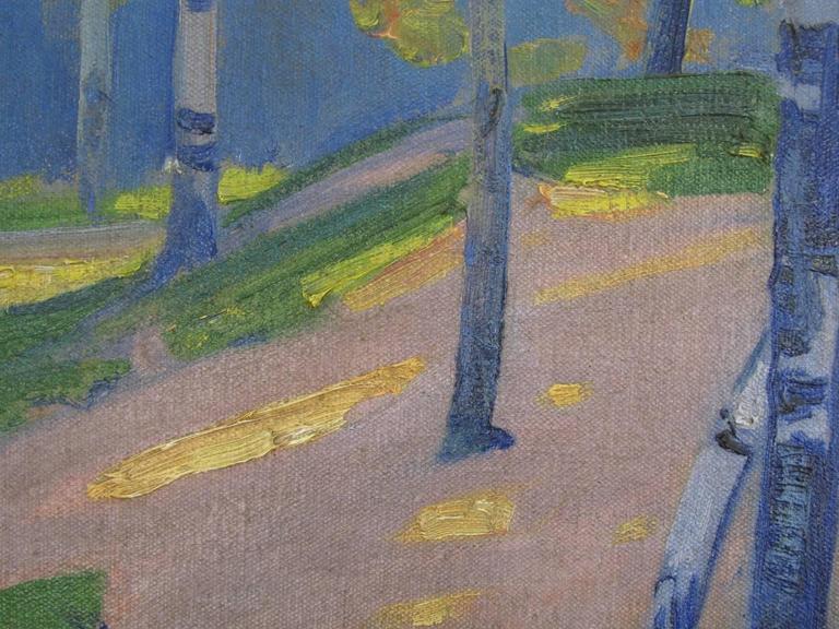 Landscape Oil on Canvas by Henry George Keller 6