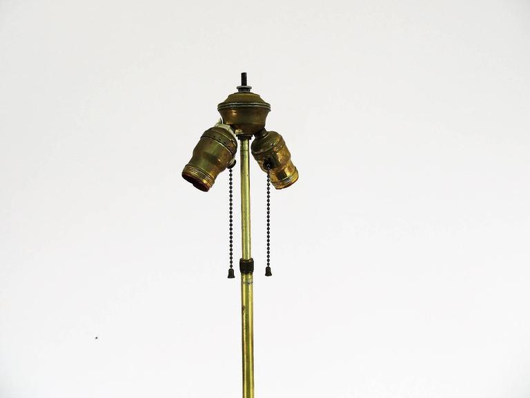 Monumental Italian Layered Marble Table Lamp 6