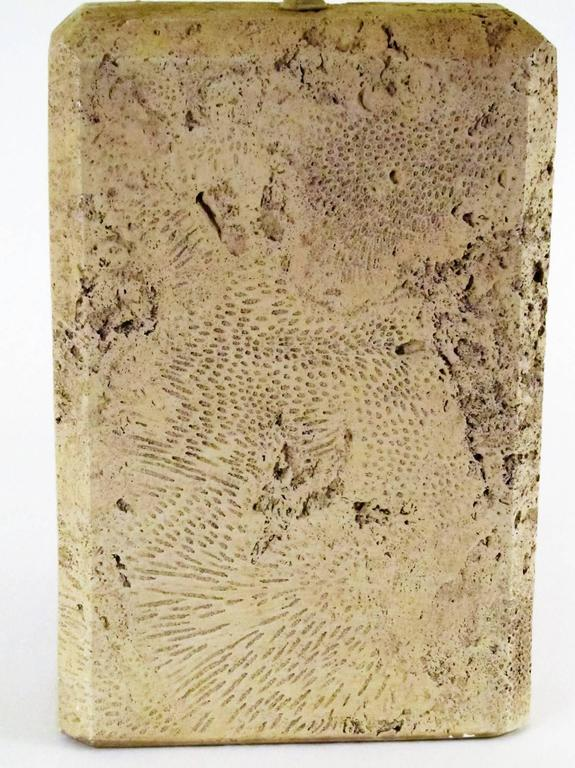 Monumental Fossilized Coral Table Lamp 2