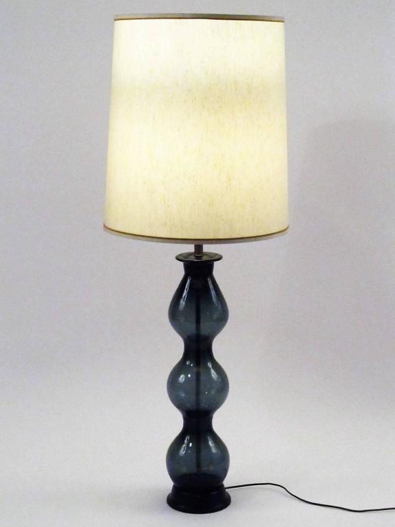 Large Handblown Murano Glass Table Lamp 4