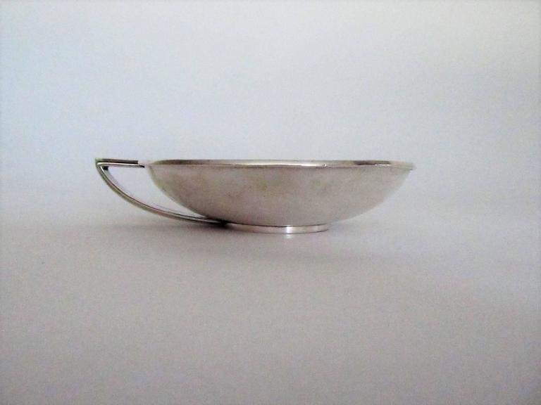 Hans Hansen Art Deco Sterling Silver Bowl, Denmark, 1934 5