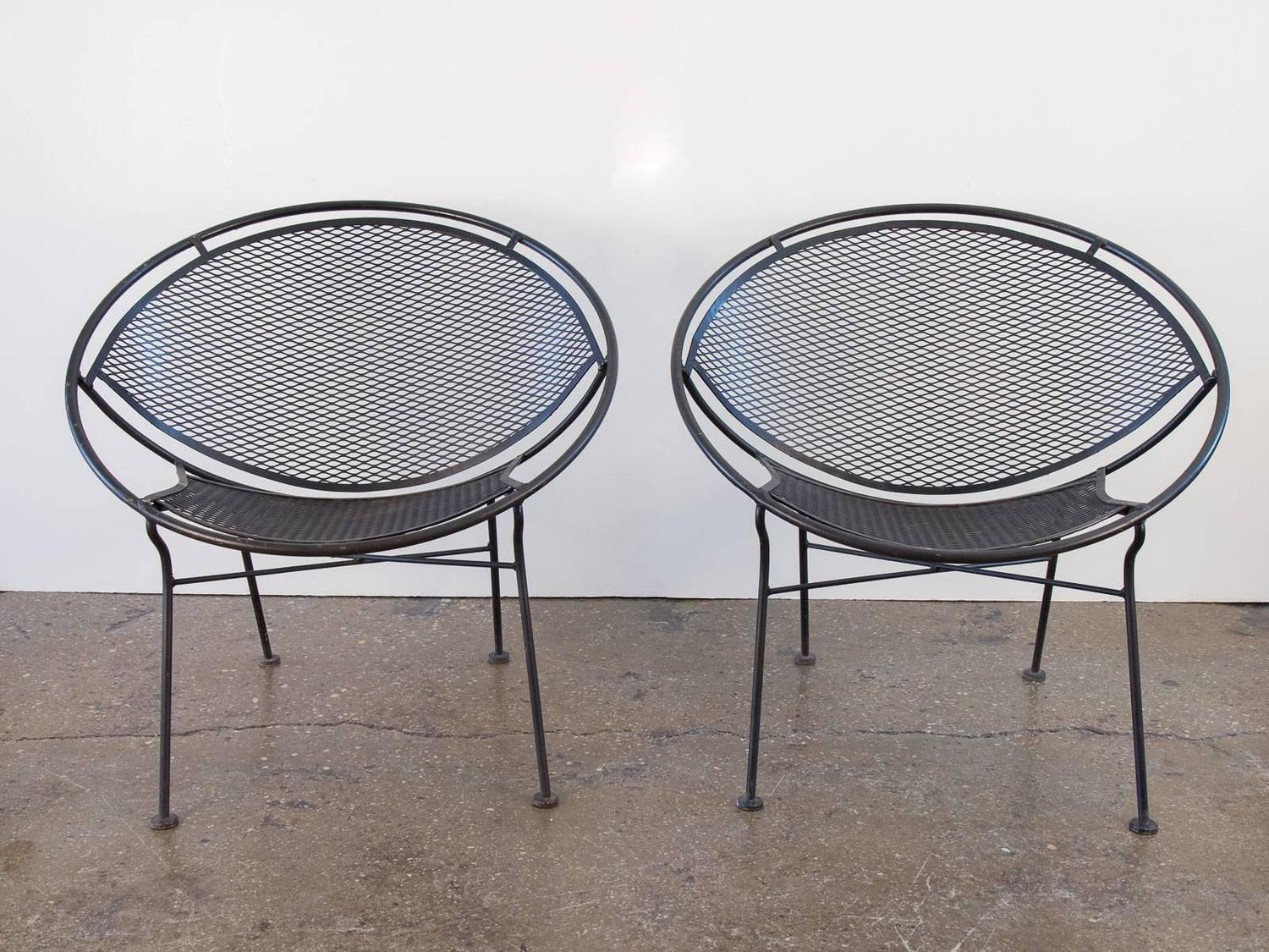 Pair Of Salterini Patio Chairs At 1stdibs