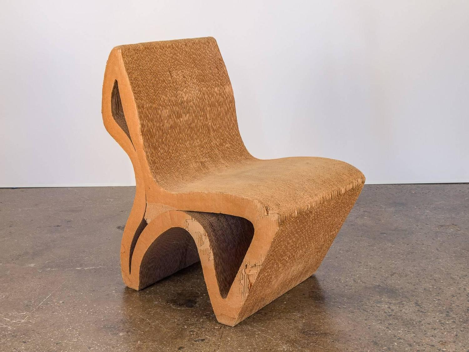 Vintage Corrugated Cardboard Chair For Sale At 1stdibs