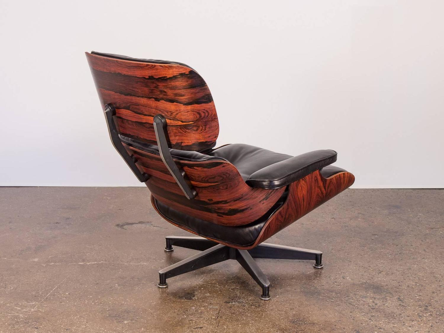 670 eames lounge chair and 671 ottoman at 1stdibs. Black Bedroom Furniture Sets. Home Design Ideas