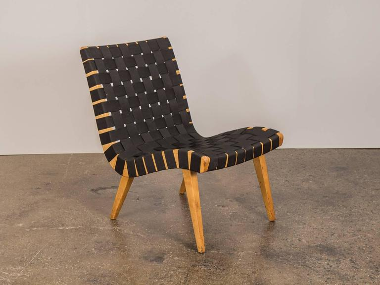 Bon Mid Century Modern Jens Risom Lounge Chair For Knoll For Sale