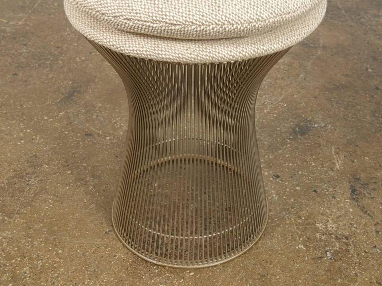 Warren Platner Stool In Excellent Condition For Sale In Brooklyn, NY