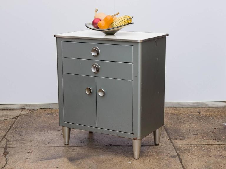 Small Modern Industrial Storage Cabinet For Sale 2