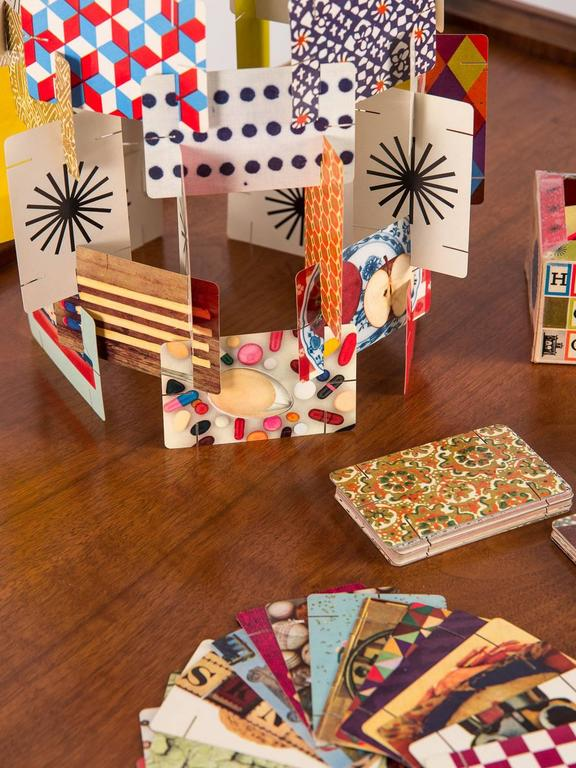 Mid-20th Century First Edition Eames House of Cards For Sale
