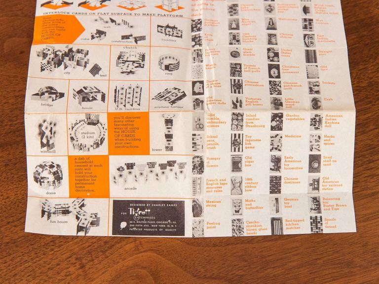 First Edition Eames House of Cards For Sale 3
