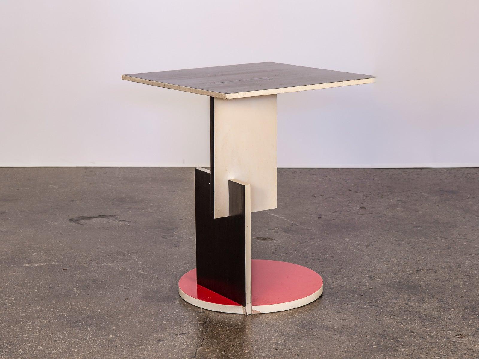 Stijl Table For Cassina Schroeder De 3TKcFl1J