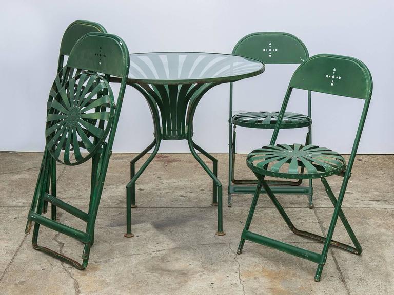 Francois Carre Style Garden Set At 1stdibs