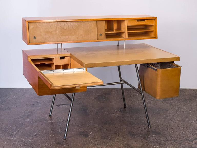 All Original Home Office Desk Model 4658 By George Nelson And Associates George  Nelson Desk E0