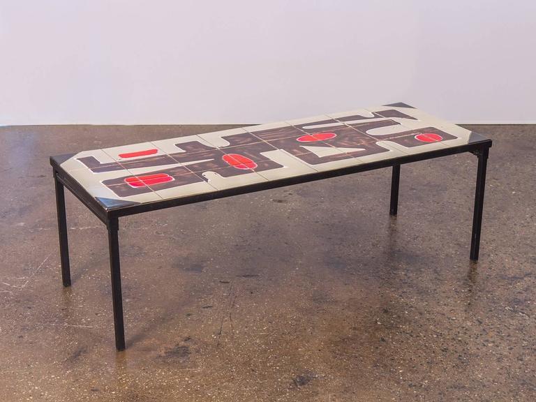 Belgian Tile Top Coffee Table 3