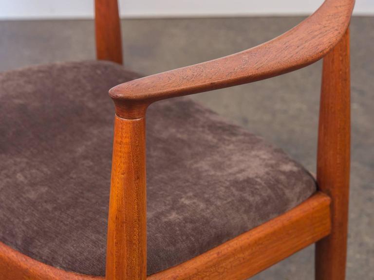 Oak Hans J Wegner Round Chair For Sale