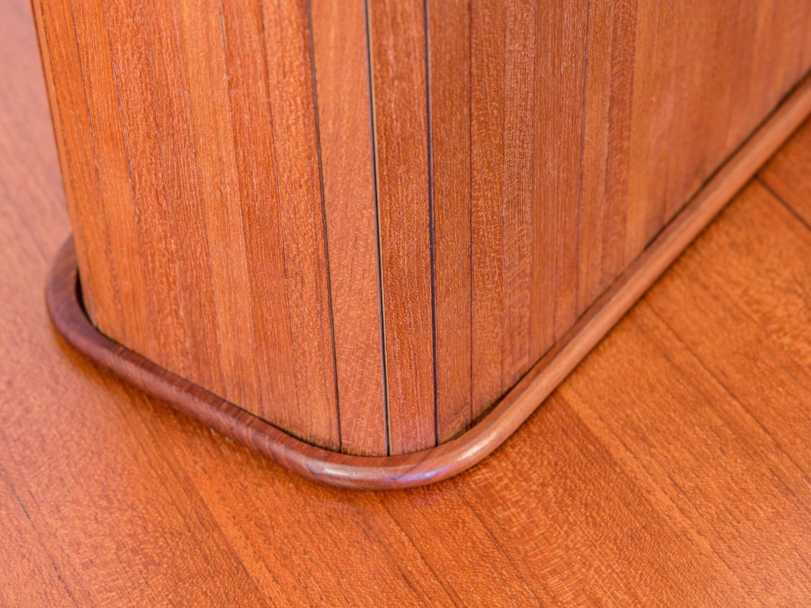 Wall Mounted Tambour Door Shelf For Sale 1