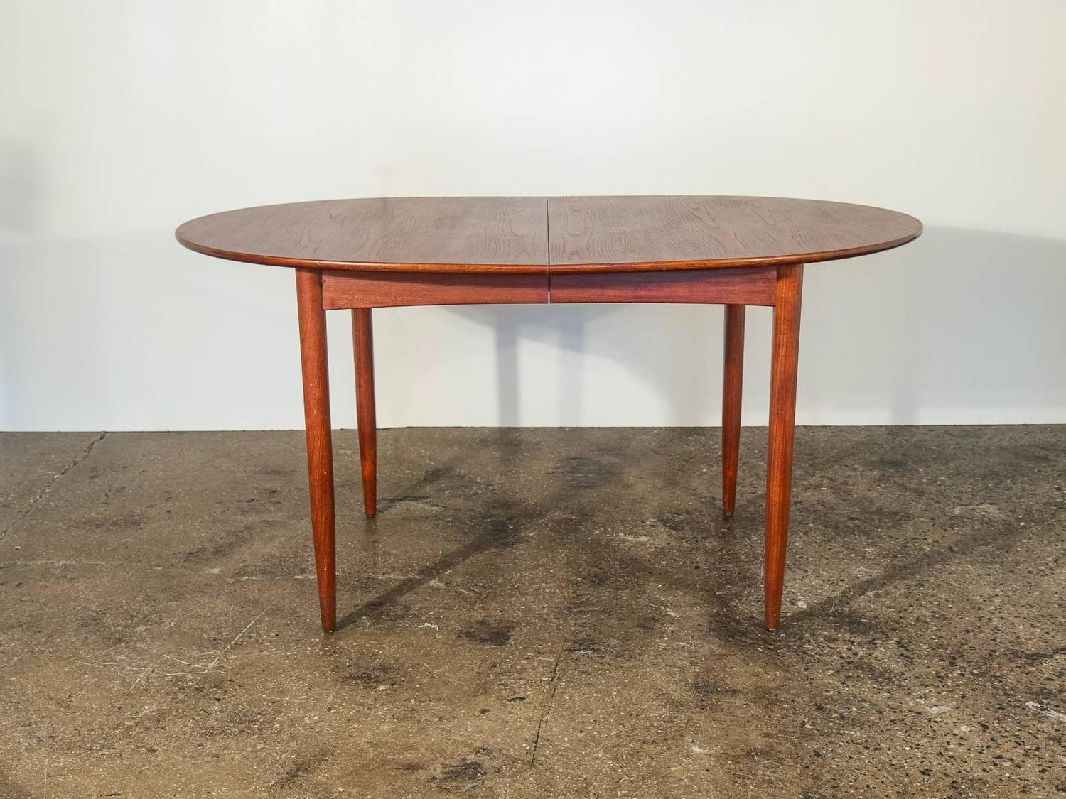 Teak Oval Dining Table Dining Table Scandinavian Dining Table Antique Scandinavian