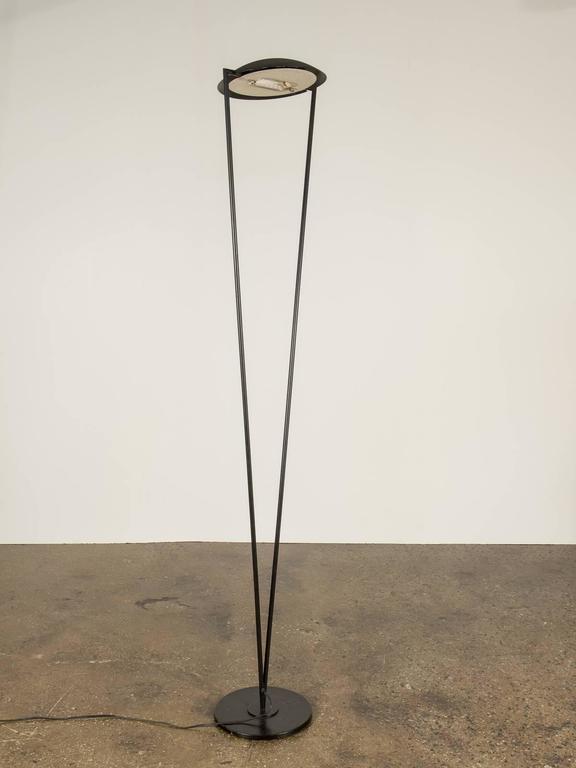 italian modern floor lamp for sale at 1stdibs. Black Bedroom Furniture Sets. Home Design Ideas