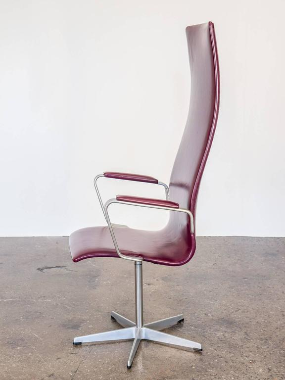 3272 Oxford Chairs By Arne Jacobsen For Fritz Hansen For Sale At 1stdibs