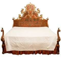18th Century Spanish Baroque Bed