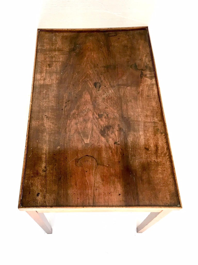 French Directoire Game Table with Reversible Top In Good Condition For Sale In Madrid, ES