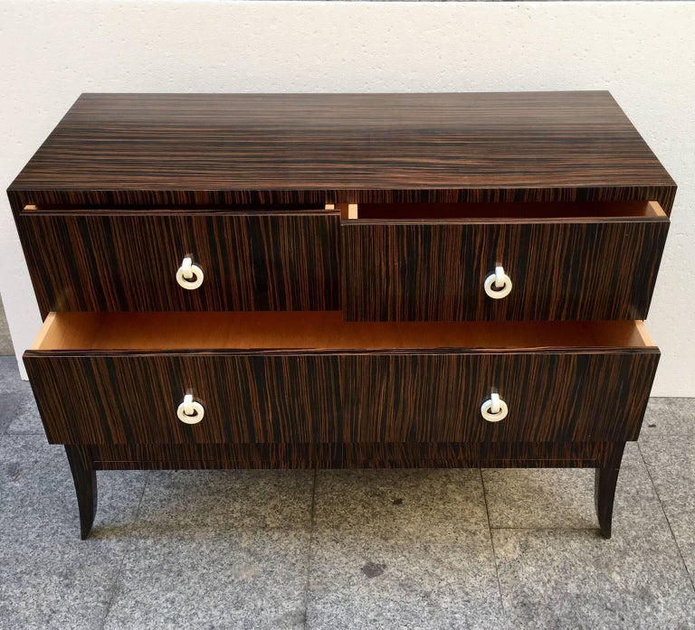 Art deco revival commode at 1stdibs for Commode miroir art deco