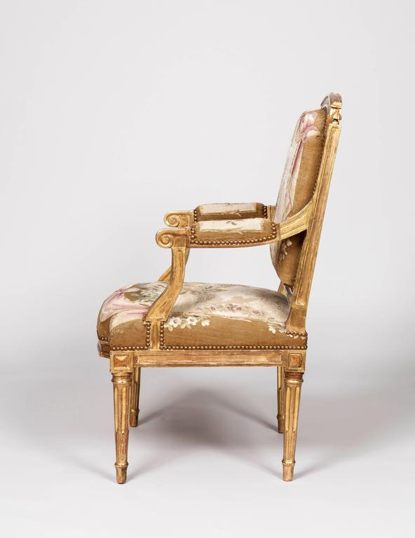 A good pair of Louis XVI Period Fauteuils a la Reine