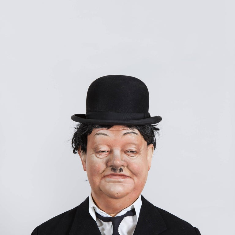Mannequins of The Great Laurel and Hardy