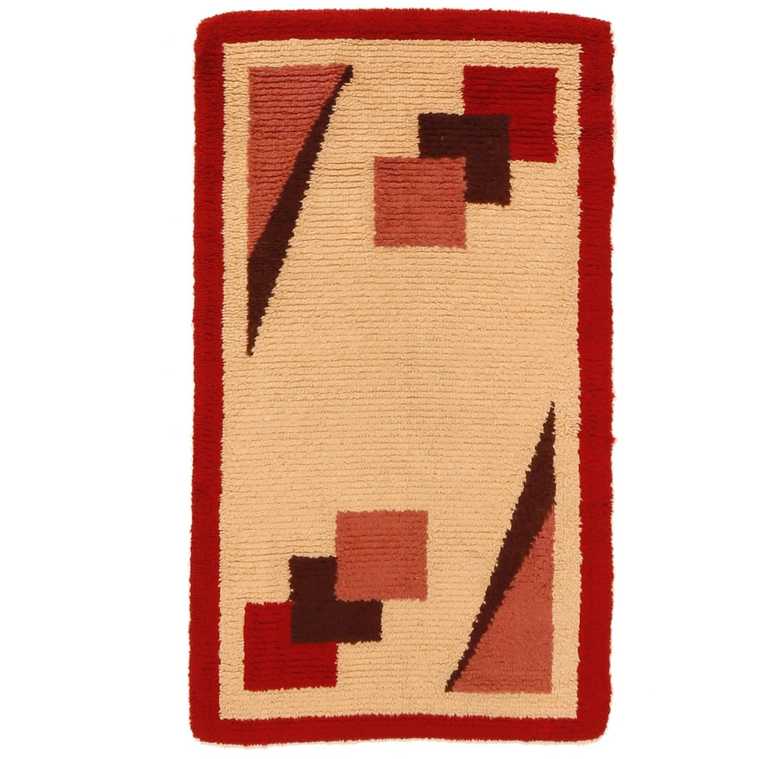 French art deco rug at 1stdibs for Deco rugs carpet