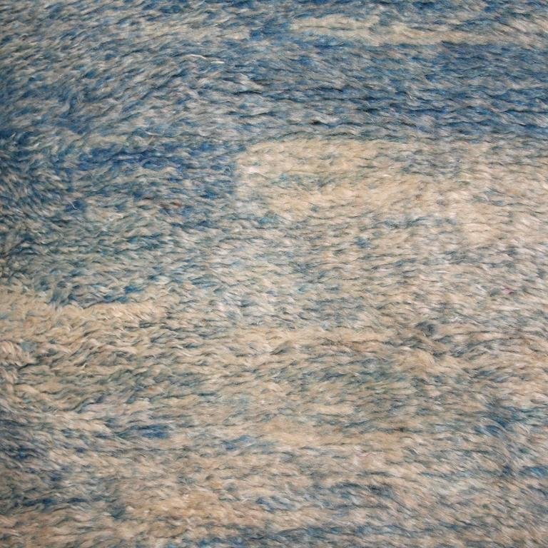 Sky Blue Berber Carpet At 1stdibs