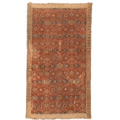18th Century Caucasian Carpet with Harshang Pattern