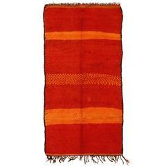 Vintage Rehamna Berber Carpet