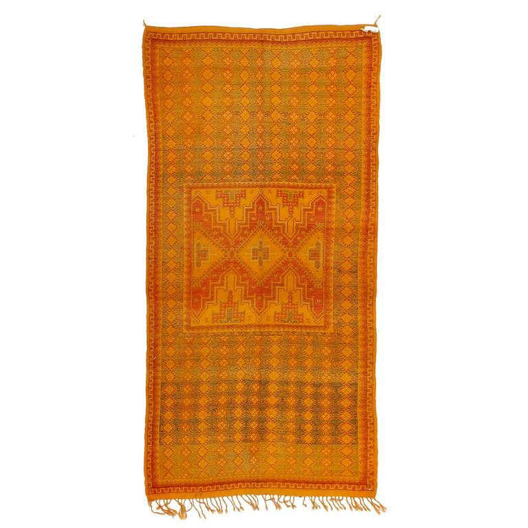 Vintage High Atlas Berber Rug For Sale At 1stdibs