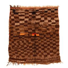 Vintage Middle Atlas Boujad Berber Rug