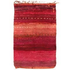 Superlative Vintage Beni M'guild Berber Carpet