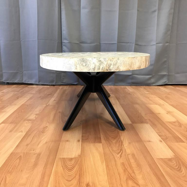 Capiz Shell Surfboard Coffee Table For Sale At 1stdibs