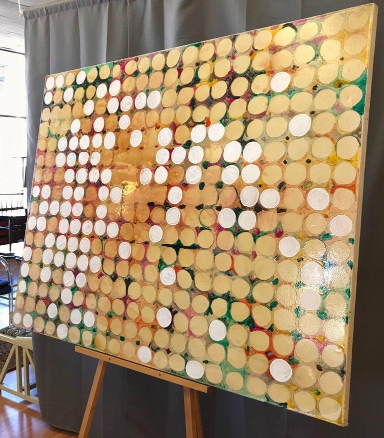 "Canvas Alan Fulle ""Fruit Farm"" Expansive Maximalist Painting, 2004 For Sale"