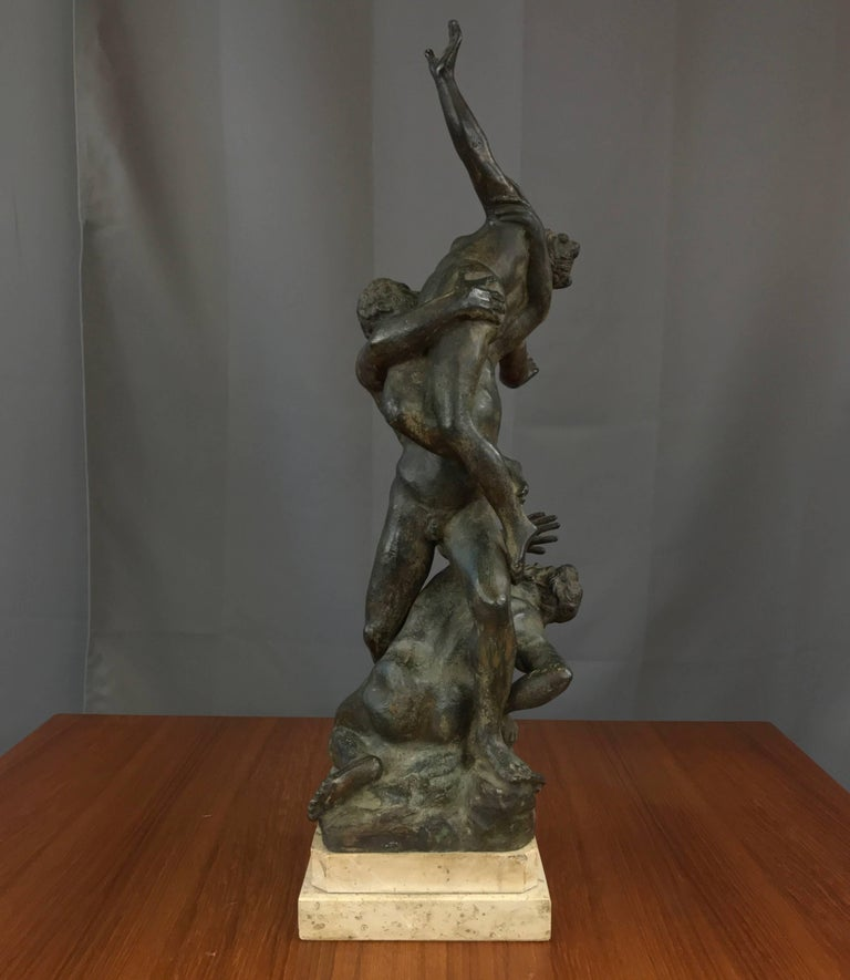 abduction of the sabine women essay Rape of the sabine women by: giovanni da bologna this sculpture was created by a man using the name giovanni da bologna his real name is jean boulogne.