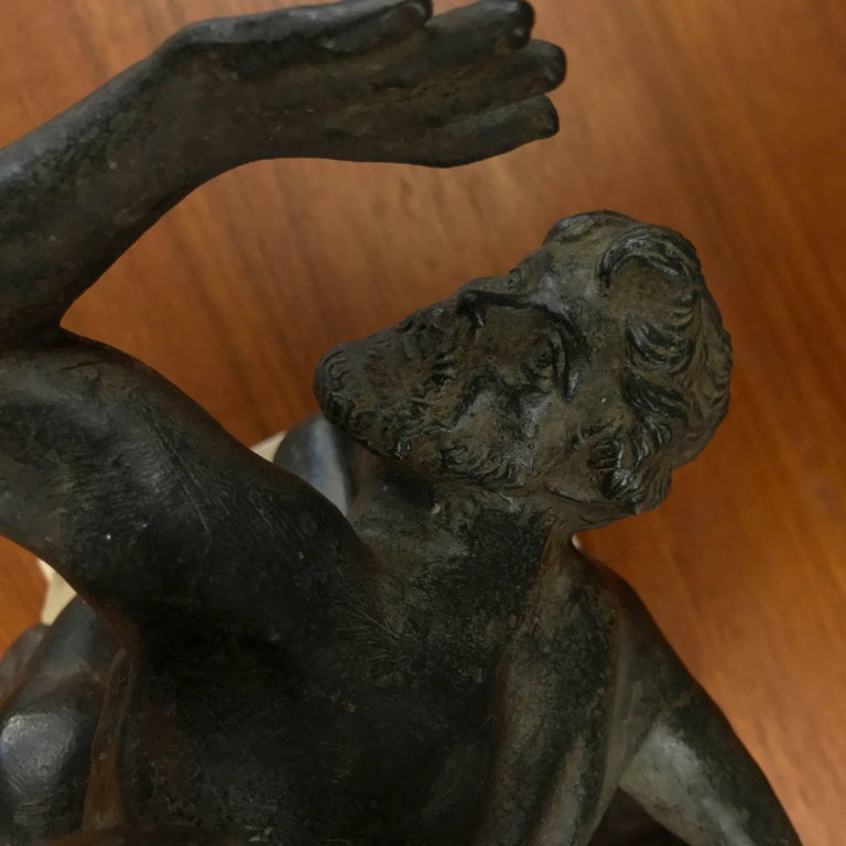"""""""Abduction of the Sabine Women"""" Metal Sculpture after Giambologna For Sale 2"""