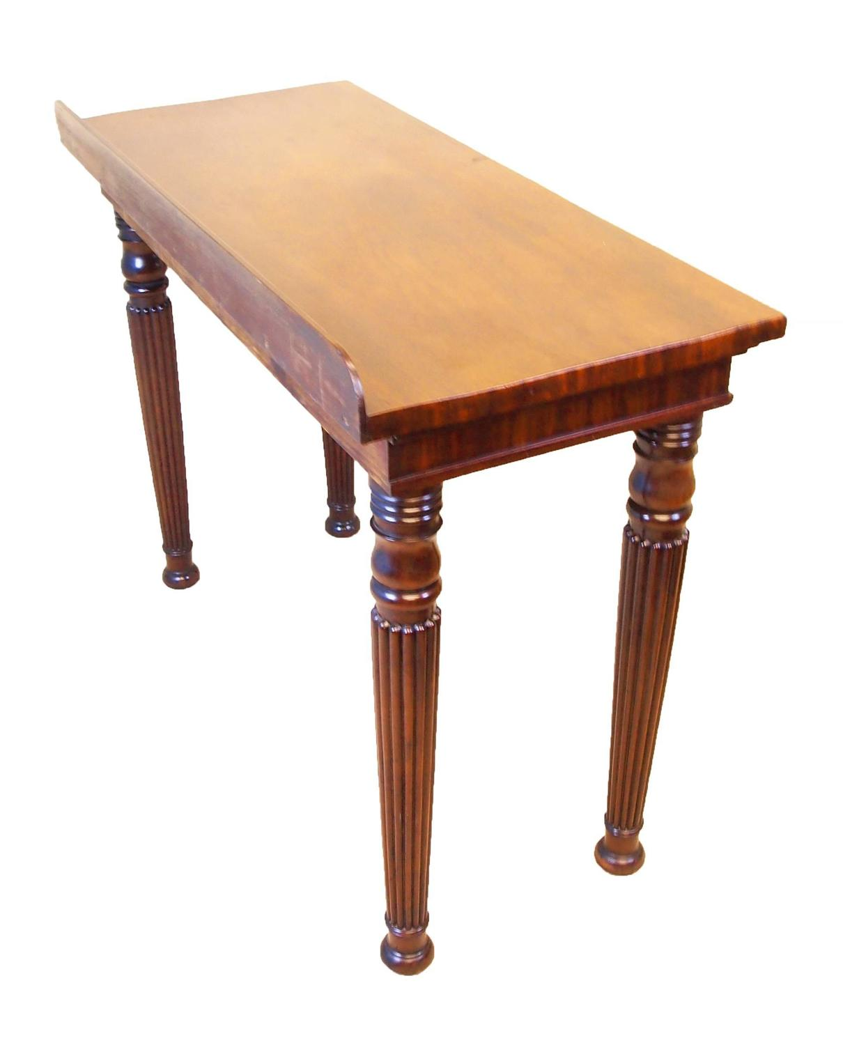 Foyer Table Sale : Antique regency mahogany console hall table for sale at