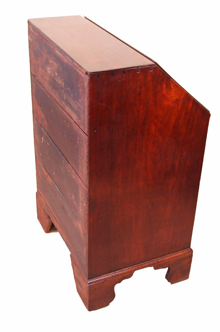 antique 18th century small mahogany bureau for sale at 1stdibs